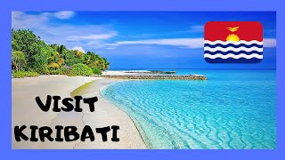 LANDING in KIRIBATI  (Tarawa Atoll, Gilbert Islands), central Pacific Ocean