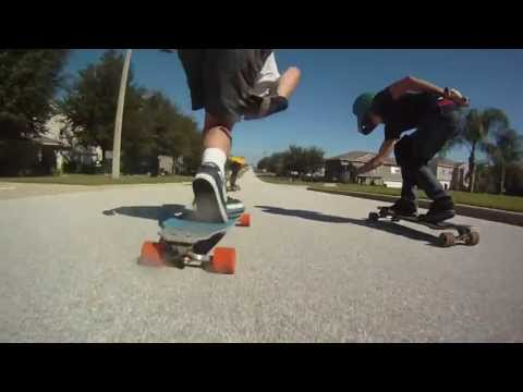 Longboarding: Clermont Florida Raw Run SkyRidge