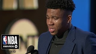Giannis Antetokounmpo Wins Most Valuable Player  | 2019 NBA Awards