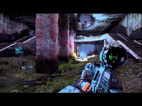 Metro: Last Light Ranger Mode - Bandits: Regina Destroyed, Call Ferry Watcher Ambush Died PS3