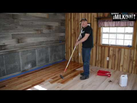 How to Use Half & Half Tung Oil On Wood Floor