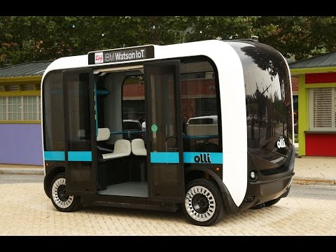 Olli Self-Driving Electric Bus By IBM's Watson And Local Motors
