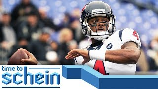 Will Deshaun Watson BOUNCE BACK after Baltimore? | Time to Schein