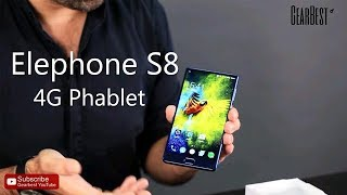 Elephone S8 4G Phablet - Gearbest.com