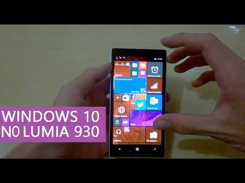Análise Windows 10 no Lumia 930 - Todas as Novidades - Vale a pena? (Build 10080)