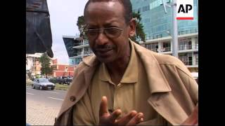 Female taxi driver takes to the roads of Addis Ababa