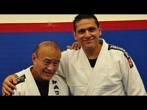 Dan Inosanto and Andre Lima Training Brazilian Jiu Jitsu at John Machado Academy Image 1