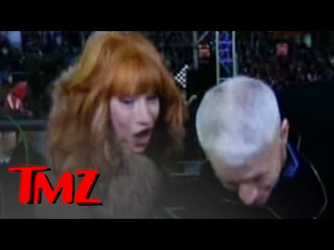 Kathy Griffin & Anderson Cooper -- She Tries to MAUL His Manhood!