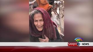 PM Imran Khan Talk to needy old lady via video call | Sanjh News 19 March 2019