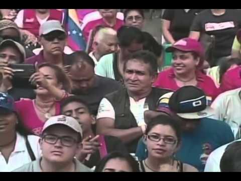 Nicolás Maduro recibe conclusiones de Congreso de la Patria, 19 Abril 2016