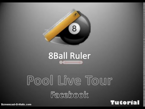 Como Usar 8Ball Ruler para Pool Live Tour (Truco) HD