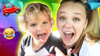 DRIVING WITH MINI JAKE PAUL!!! *HE IS 5 YEARS OLD*