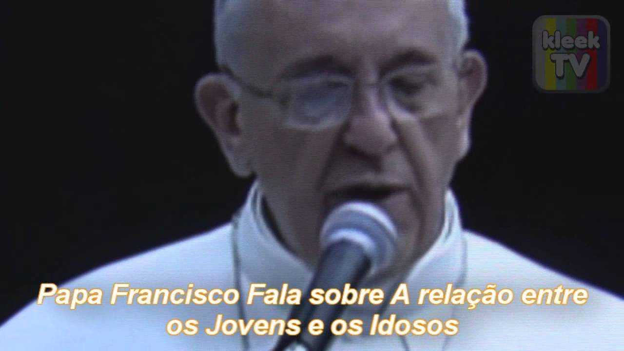 PAPA FRANCISCO MENSAGEM AOS IDOSOS DO BRASIL - YouTube