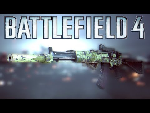 Battlefield 4 AEK-971 Weapon Review - The Best Gun in BF4! (Battlefield 4 Gameplay/Commantary) 1080p