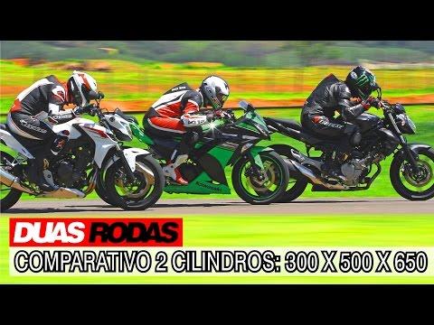 Duas Rodas Testando Limites: comparativo Honda CB 500F x Kawasaki Ninja 300 x Suzuki Gladius 650