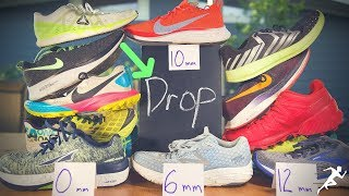 Running Shoe Drop (offset), does it matter? Opinions Welcome!