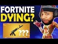 IS FORTNITE DYING REACTION TO NEW HEAVY AR HIGH KILL FUNNY GAME Fortnite Battle Royale mp3