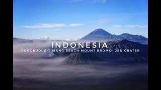 【印尼】Indonesia Trip 2019 -Borobudur·Timang Beach·Mount Bromo·Ijen Crater