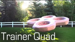 Crash Proof Trainer Quadcopter - RCTESTFLIGHT