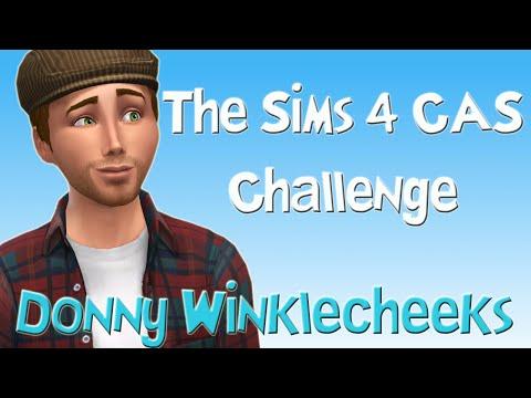 The Sims 4 CAS Challenge - Donny Winklecheeks