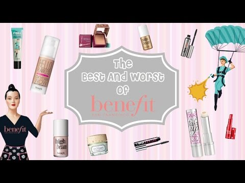 Best & Worst of BENEFIT! Favorites and Fail Products