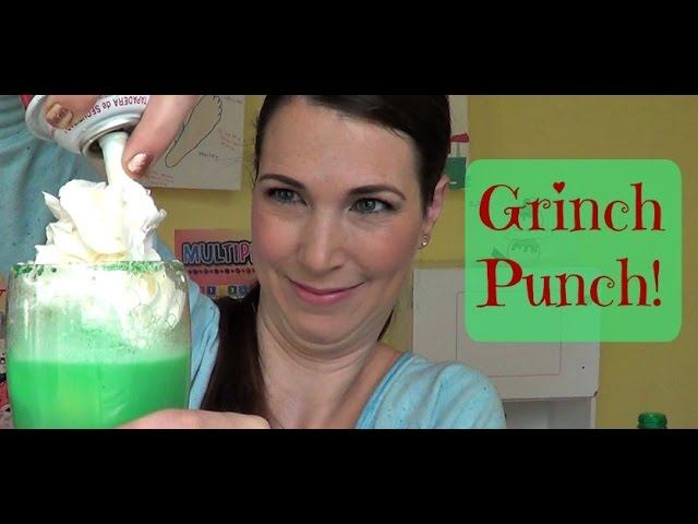 Grinch Punch! | Pinterest Drink #30 | MamaKatTV
