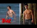 Taylor Lautner- Hot Hunky Man-Meat Beach Pics!