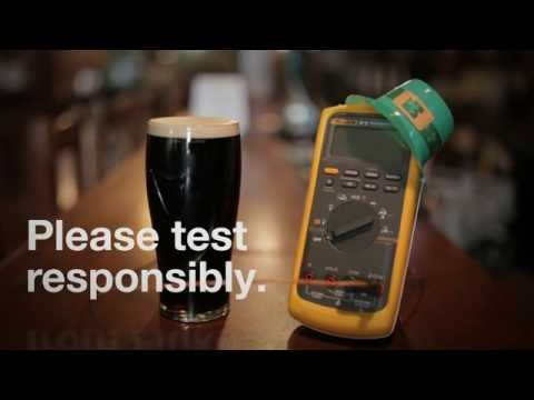 Pour the perfect pint with Fluke
