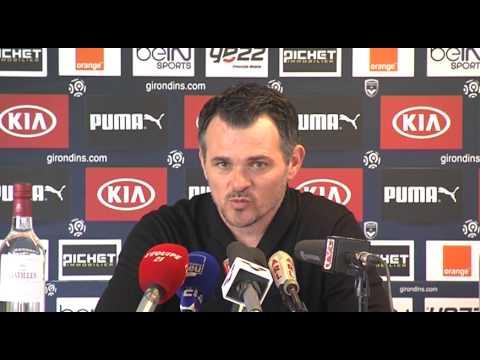 Point Presse - Willy Sagnol - Bordeaux vs Paris