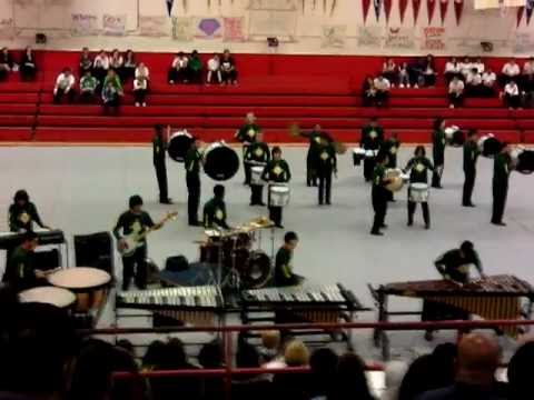 John F. Kennedy High School - Sacramento - Drumline 3-9-2012