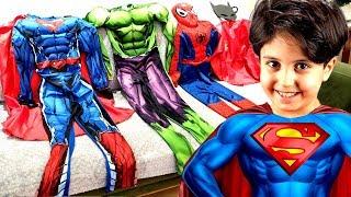 SADO SÜPER KAHRAMAN OLDU ! Sado became a Superheroes and helps his little brother Ali Rescue Mission