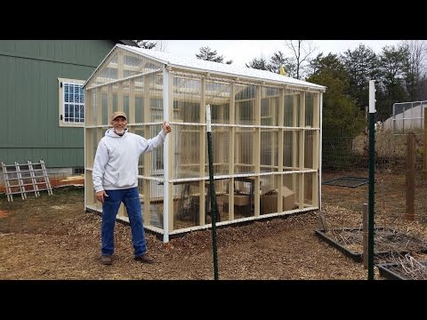 Awesome DIY Greenhouse ! Take a tour with me & see the ventilation in action!