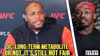 DC on Jones: Is he just allowed to have PEDs in his body now? I dont get it; Nunes on Cyborg rematch