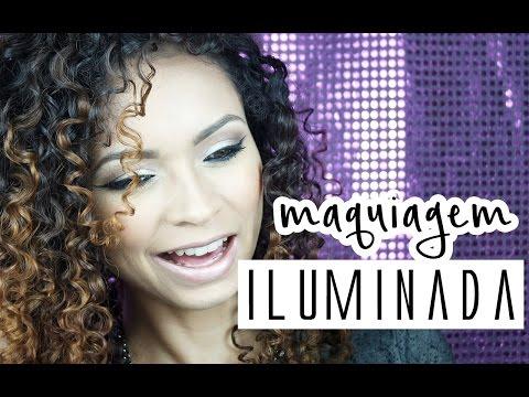 Tutorial Maquiagem Iluminada com Delineador Marcado | Makeup Tutorial [Maquiagem COMPLETA]