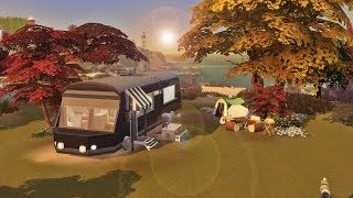 MOTORHOME / CASA TRAILER │ The Sims 4 (Speed Build)