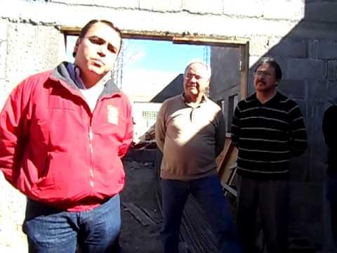 Visitan Delegado de SEDESOL y Alcalde construcción de Clínica Oftalmológica Club de Leones NCG