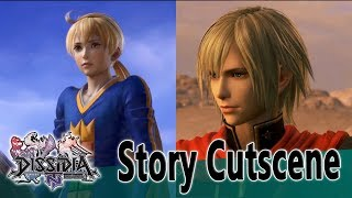 Ace & Ramza Beoulve Story Cutscene - Dissidia Final Fantasy NT (DFFAC/DFFNT)
