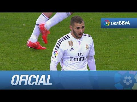 Buena combinación del Real Madrid y ocasión de Benzema