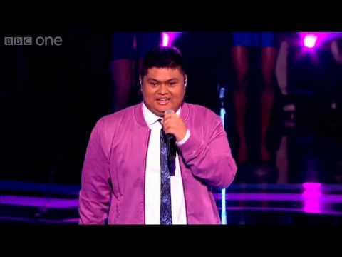 The Voice UK 2013 | Joseph Apostol performs Your Love Keeps Lifting Me Higher - Live Quarter-Finals