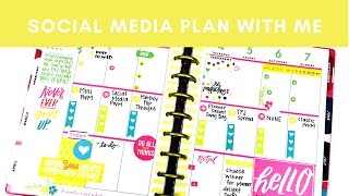 download lagu Plan With Me- Social Media- Happy Planner- May 1-7 gratis