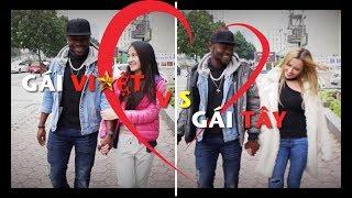 Sự khác biệt khi yêu Gái Tây & Gái Việt