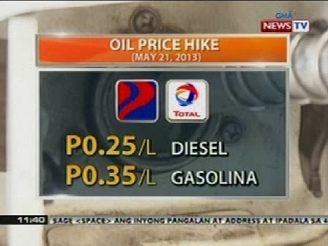 BT: Oil price hike (May 21, 2013)