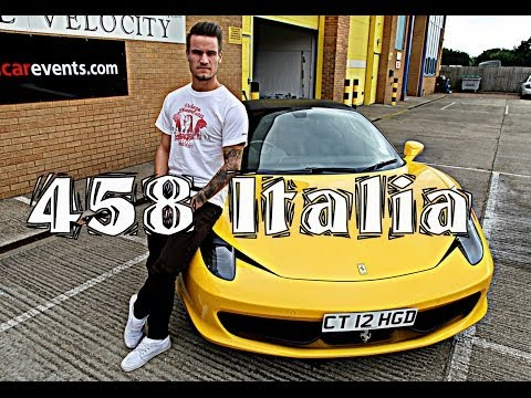 My First Supercar: Ferrari 458 italia Review