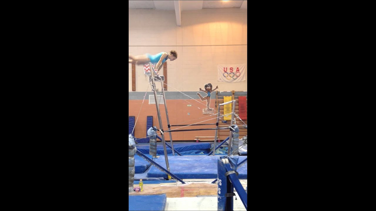 First Level 10 Bar Routine Work In Progress Youtube