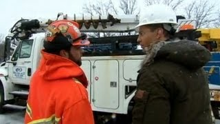 blizzard 2013: Power Outages for Hundreds of Thousands of People-NY, 2/9/13