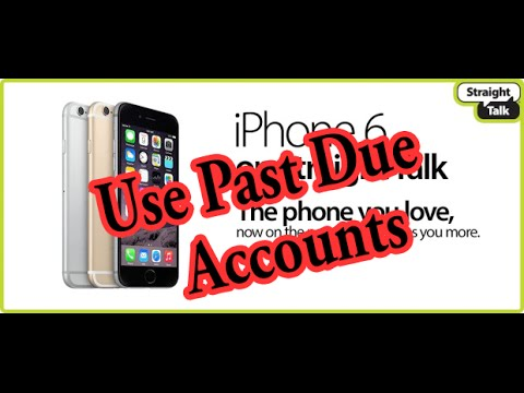 iPhone Transferred To StraightTalk: Even NonPayment Accounts Verizon/ATT/Others
