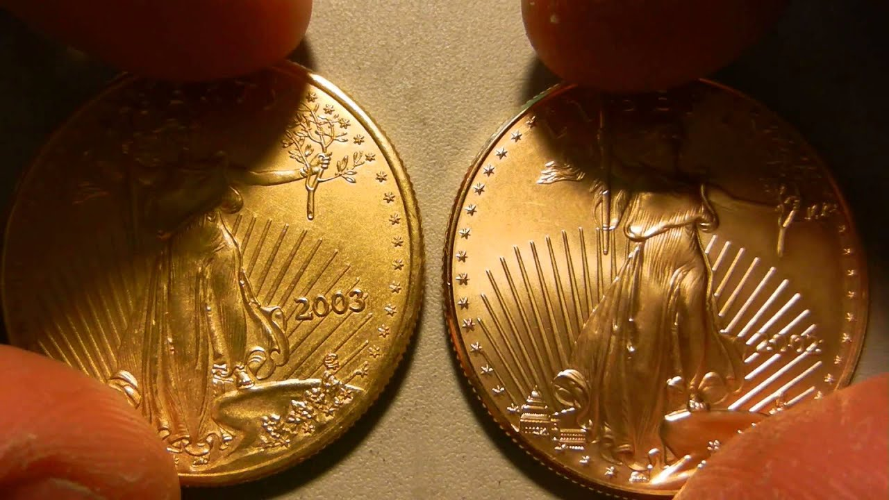 1 Oz Gold Eagle Fake Vs Real Youtube