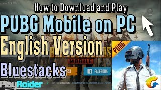 How to Play PUBG Mobile English on PC With Bluestacks N (Working)