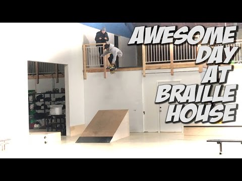AWESOME FINAL DAYS AT BRAILLE SKATEBOARDING !!! - A DAY WITH NKA -
