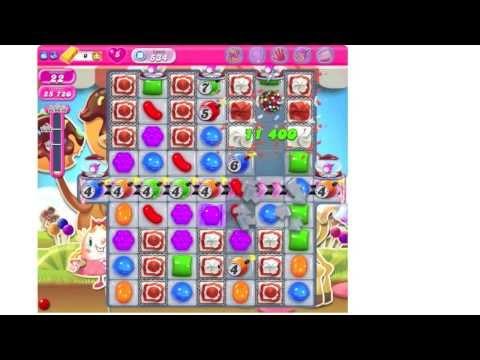 Candy Crush Saga Level 534 ★★★ no boosters (TUTORIAL)